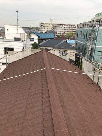 屋根改修工事 横浜市旭区施工後