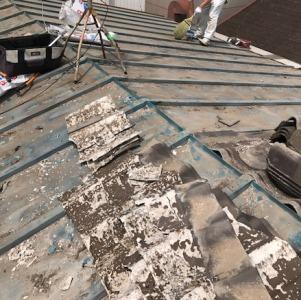 川崎市中原区の屋根工事
