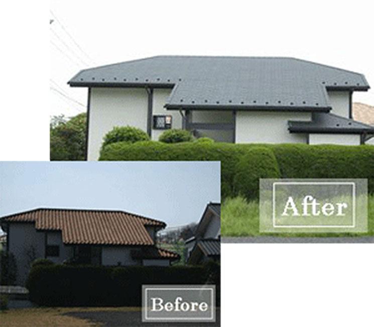 屋根改修工事/耐震補強 川崎市麻生区